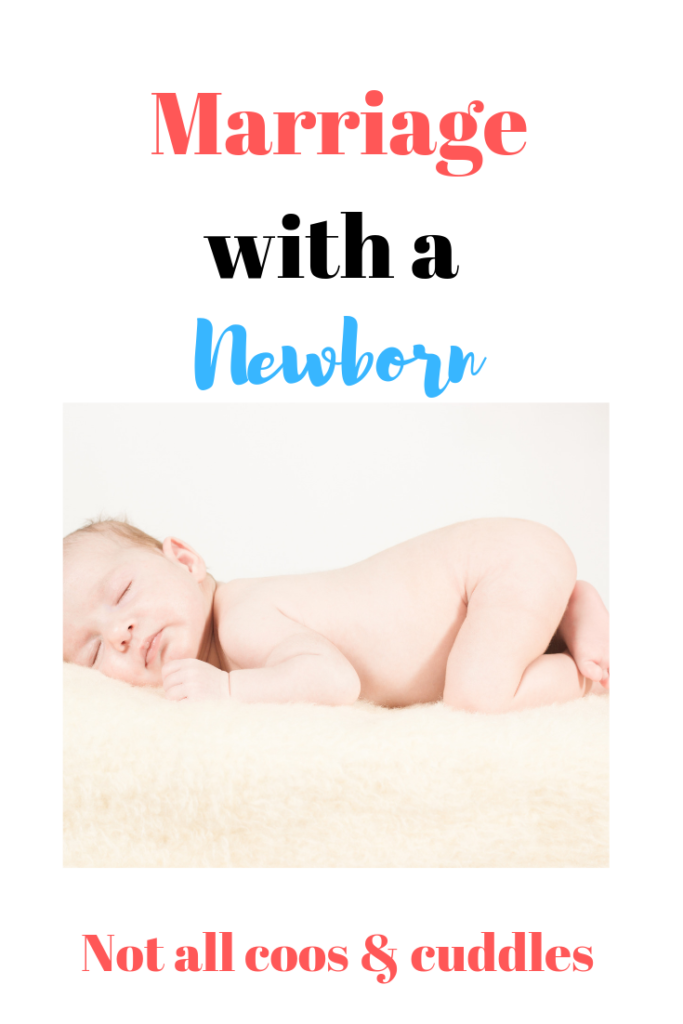 Marriage with a newborn