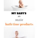 bath time staples