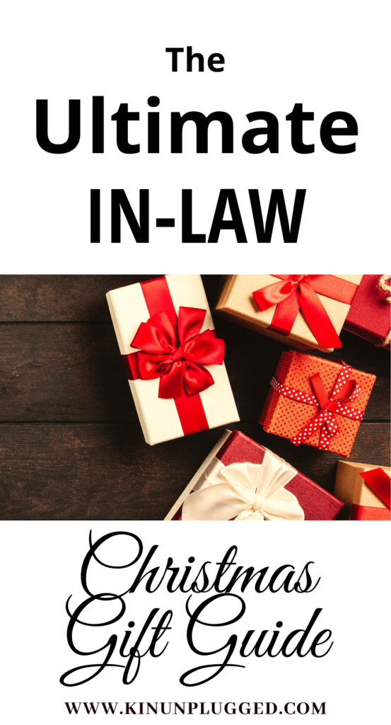 The Ultimate In Law Gift Guide Gifts For In Laws Kin Unplugged