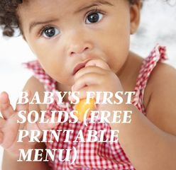 baby food recommendations
