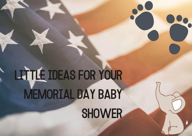 memorial day baby shower