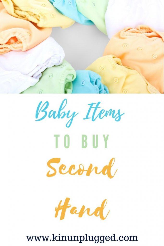 secondhand baby stuff