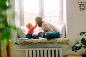 motherhood changes photo mom and baby