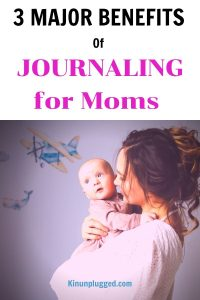 mommy journal  with newborn
