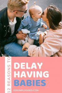 delay parenting pin