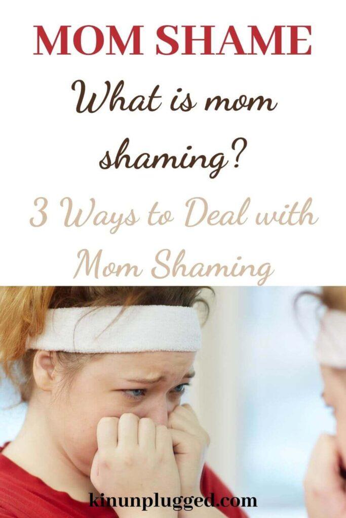 mom shaming pin