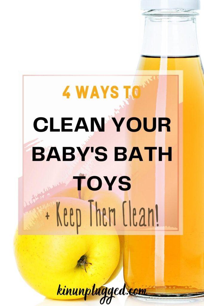 apple cider vinegar bath toys