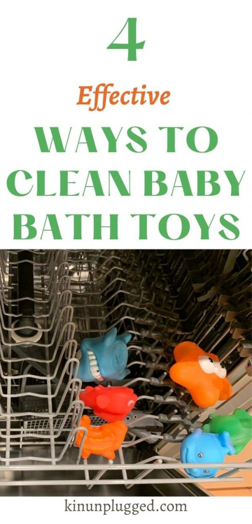 dishwasher cleaning bath toys pin