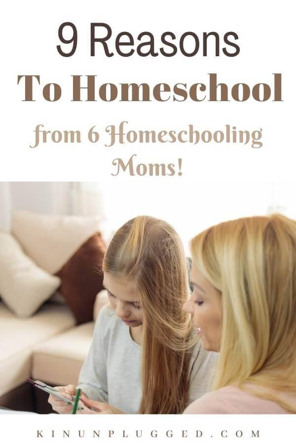 why homeschool pinterest pin