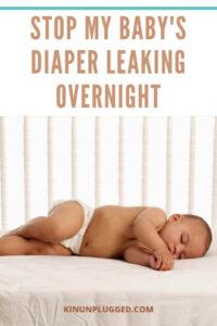 diaper at night