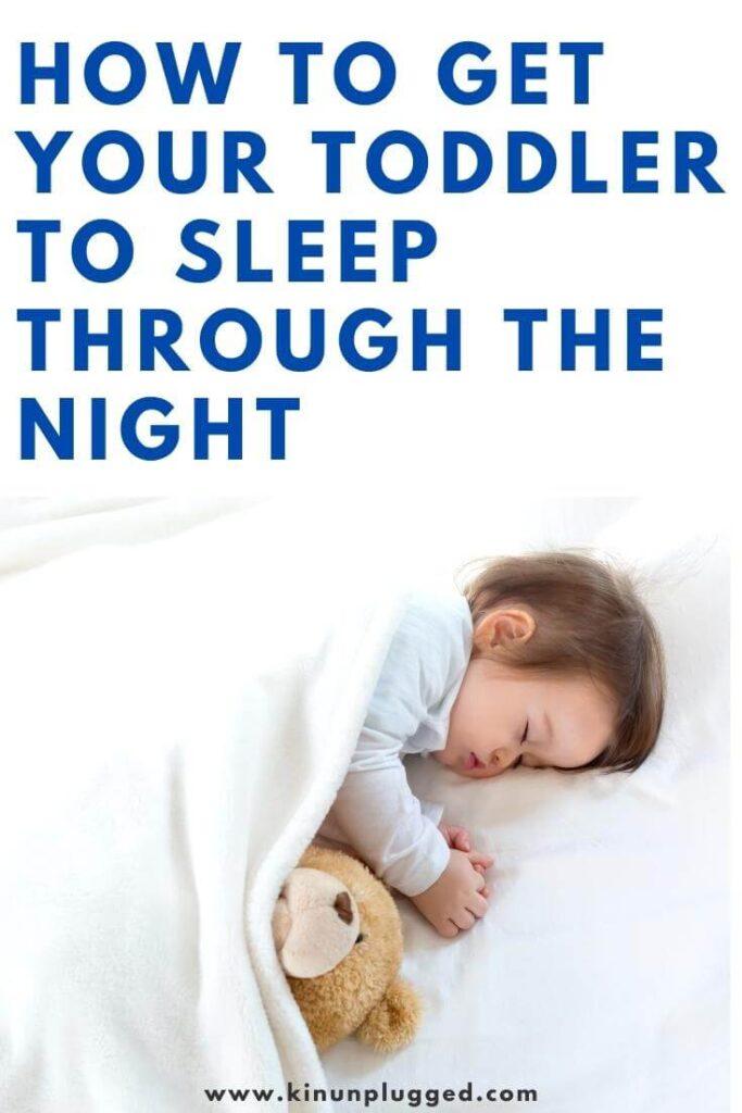 toddler sleep through the night
