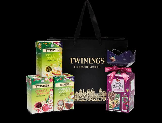green tea gift bag