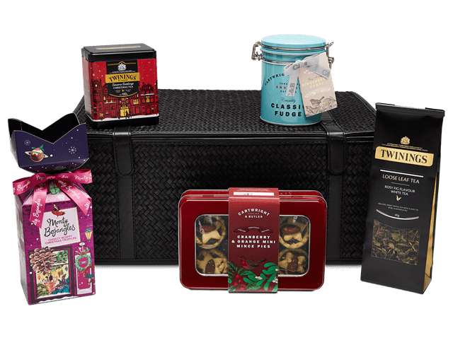 twinings festive tea gift basket