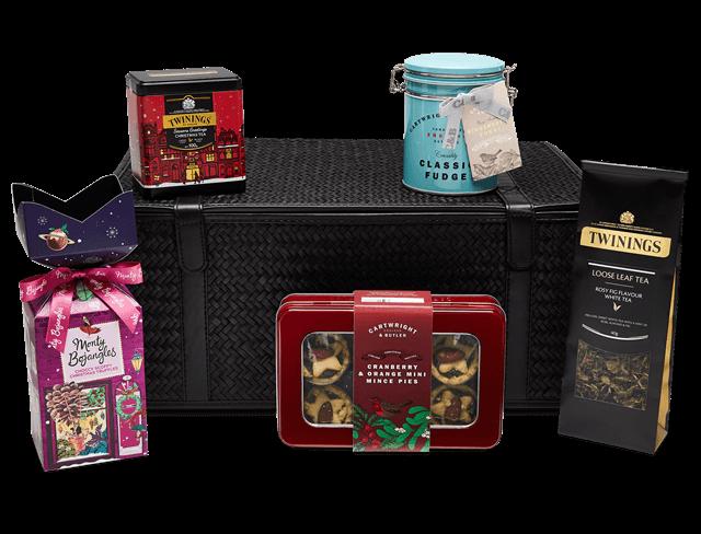 twinings festive tea gift basket