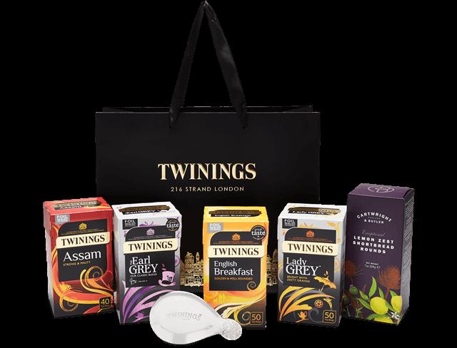 teatime favourites git bag twinings
