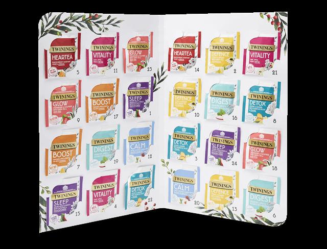twinings tea gift baskets advent calendar