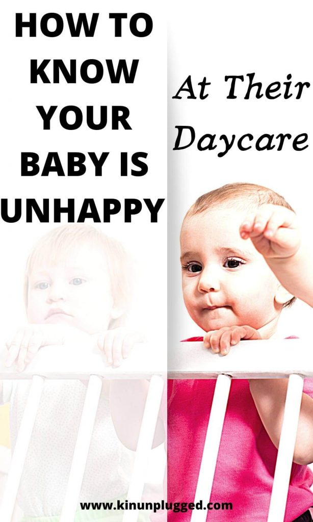baby happy at daycare