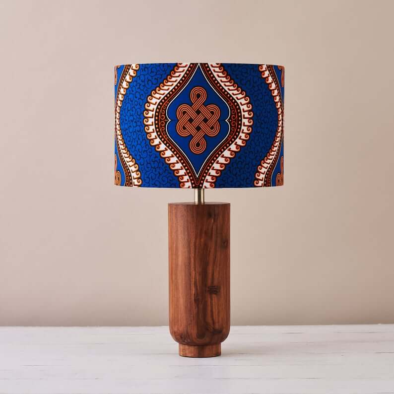 ankara lampshade for black history month