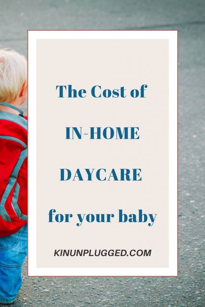 in-home day care costs