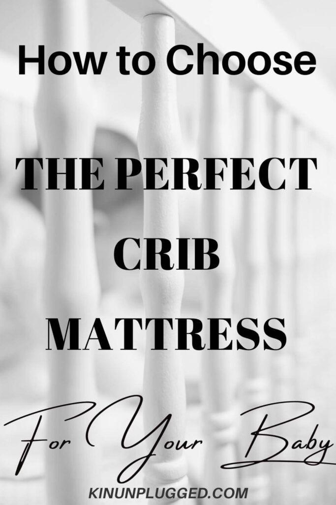 crib mattress pin