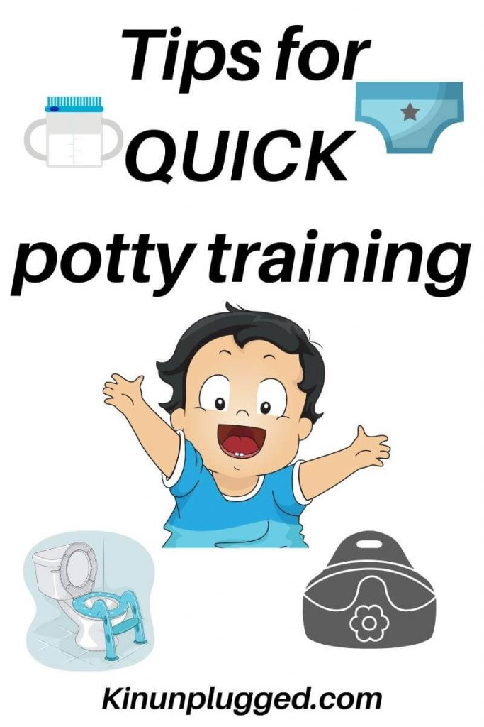 fast toddler potty training