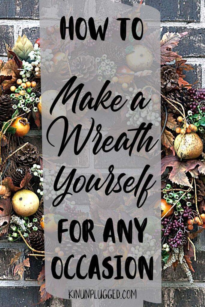 diy wreath tutorials