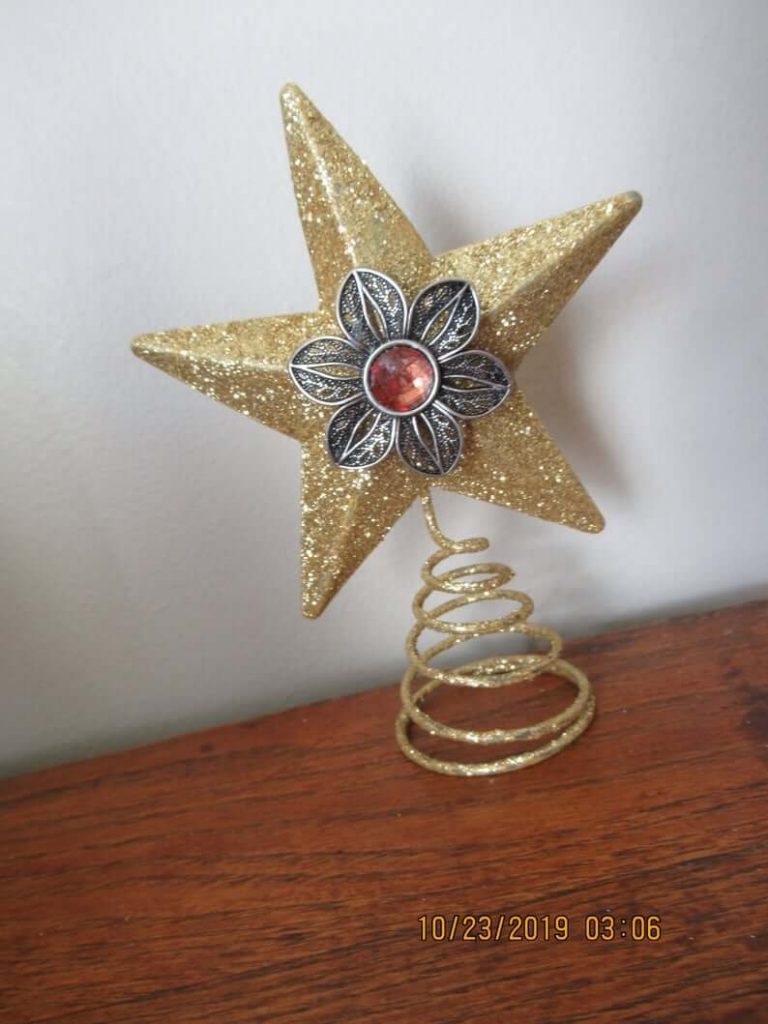 christmas home decorations tree topper