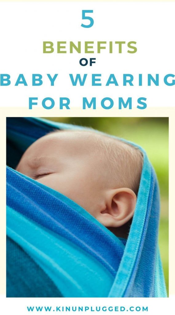benefits of baby wearing