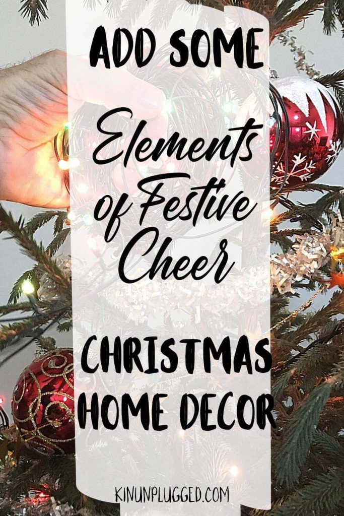 elements of festive cheer