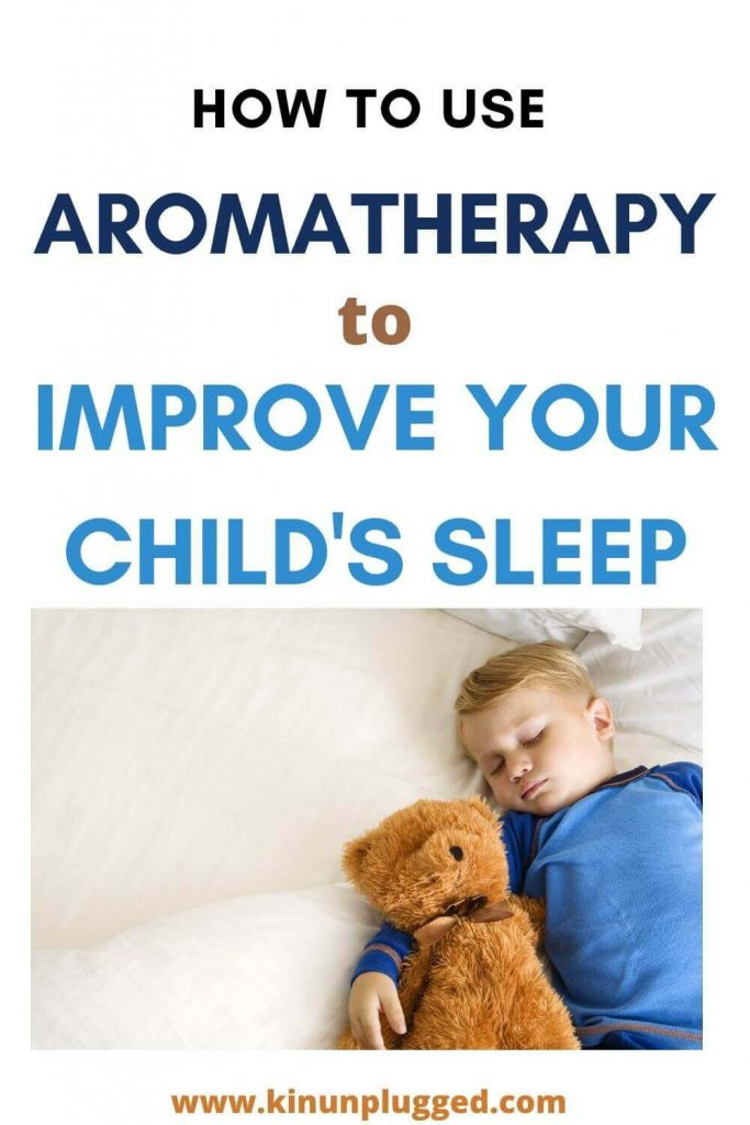 children and sleep and aromatherapy