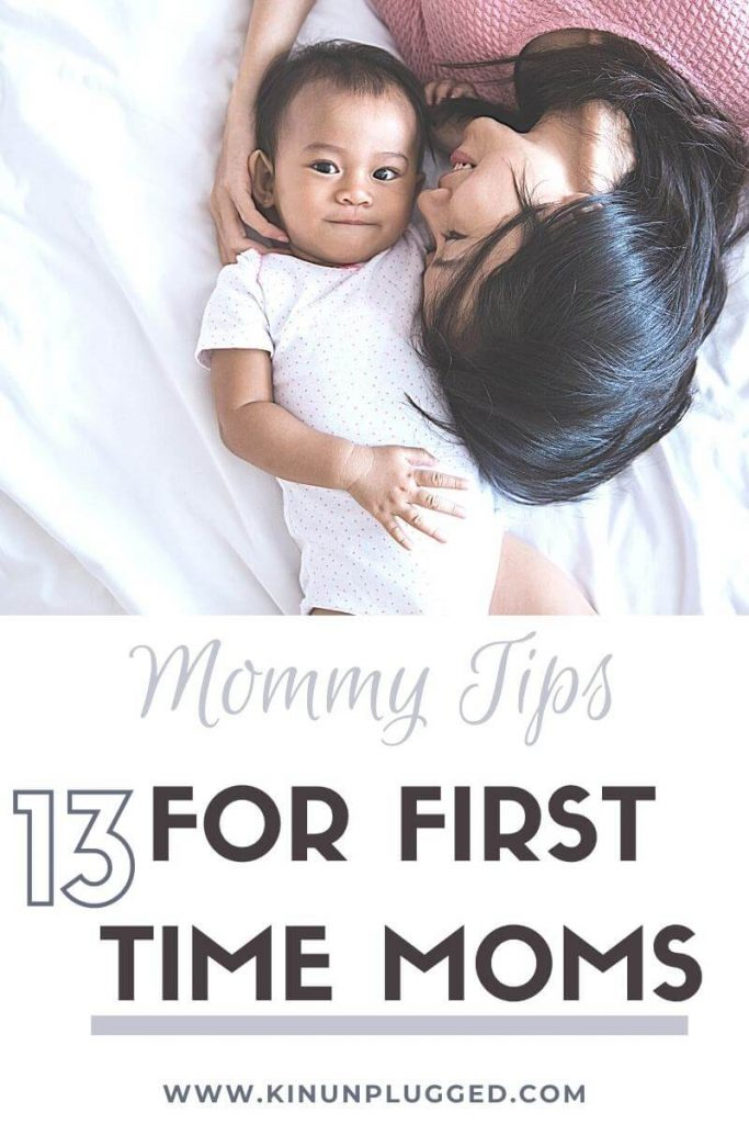 First time mum tips for sanity