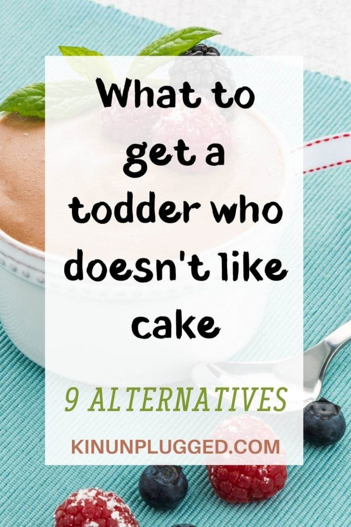 toddler alternatives to birthday cake