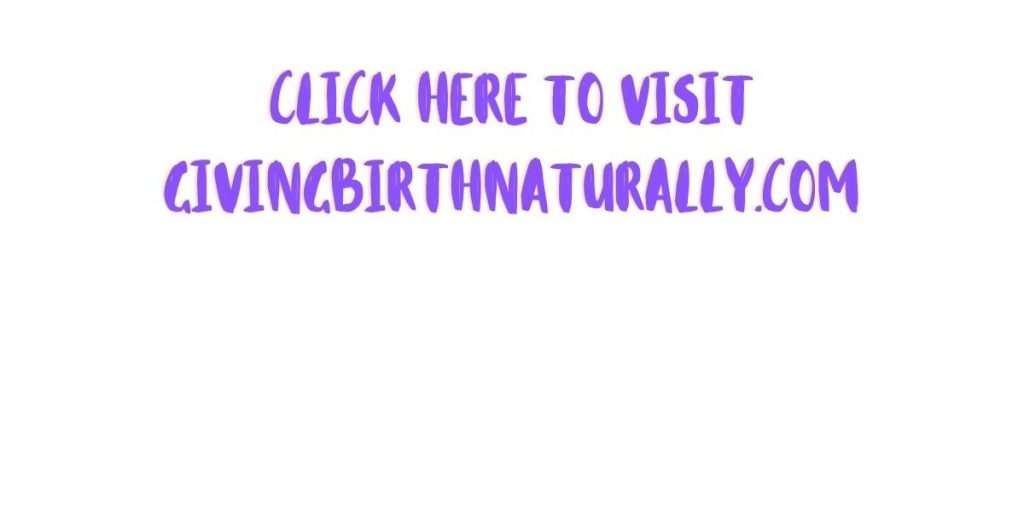giving birth naturally