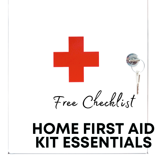 at home first aid