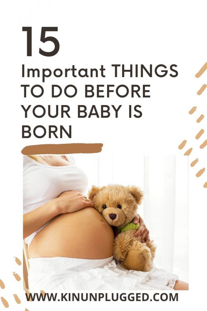 things to do before baby arrives