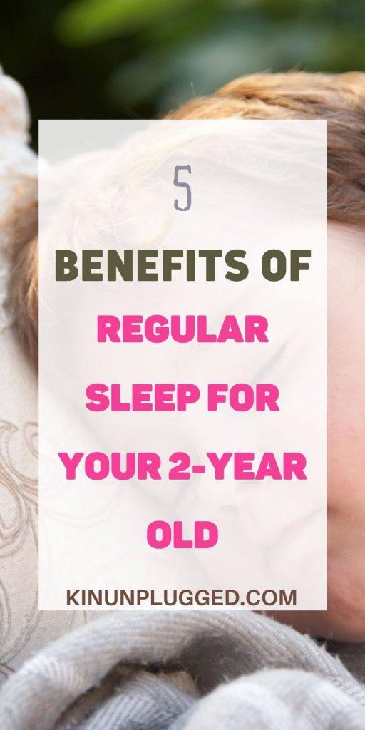 regular sleep schedules