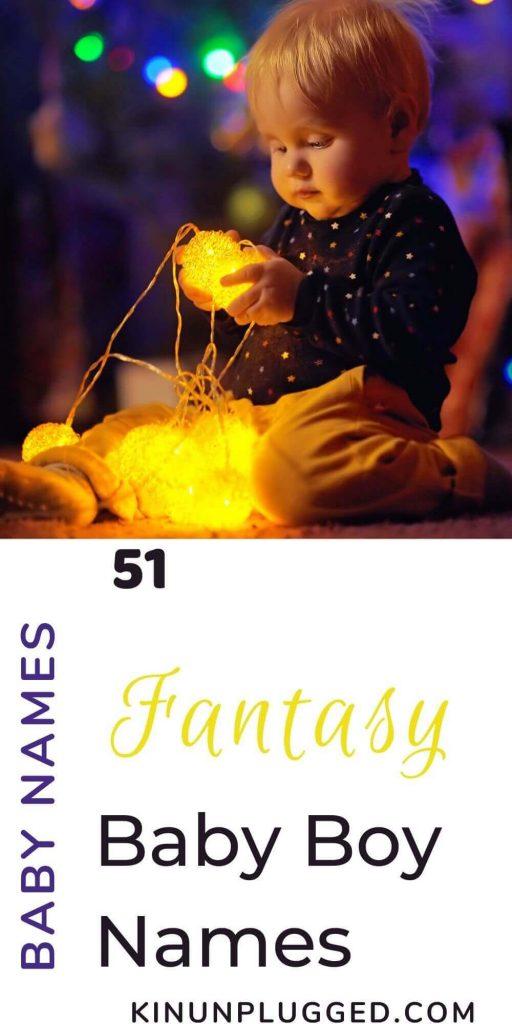 Fantasy names for boys