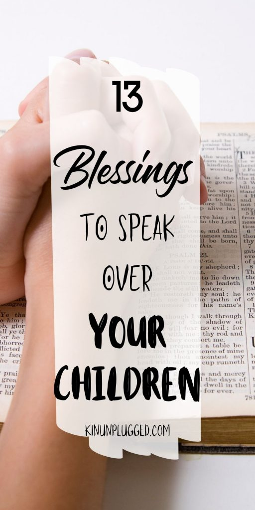 Declarations to speak over your child