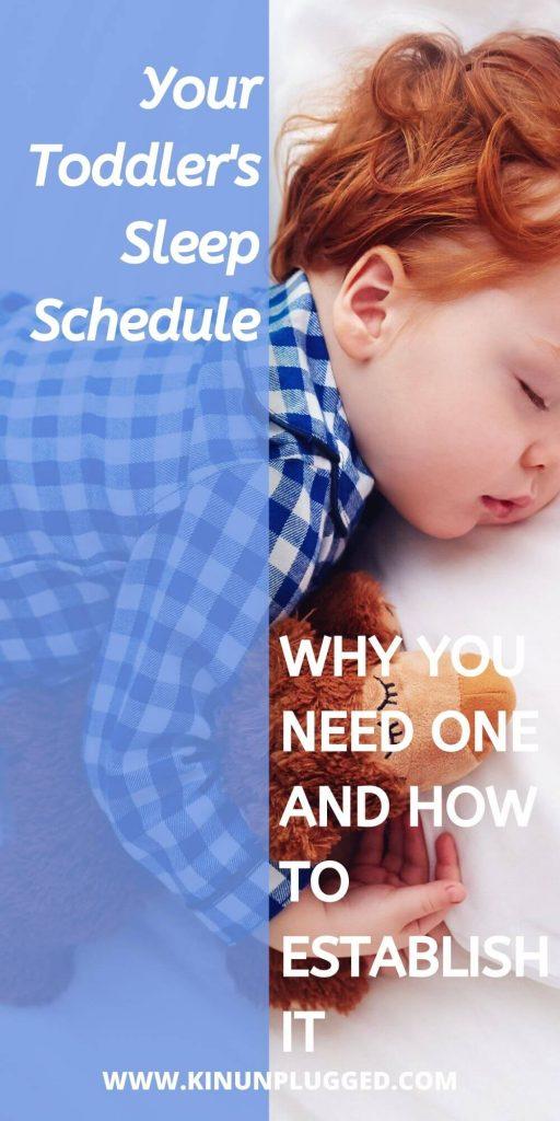 2 year old sleep schedule