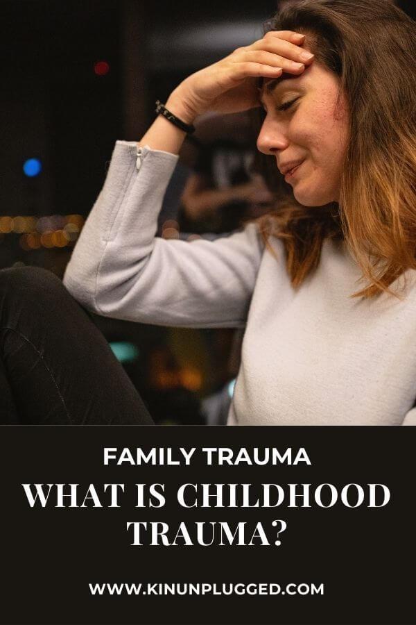 adults with childhood trauma