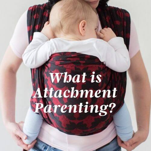 the attachment parenting style