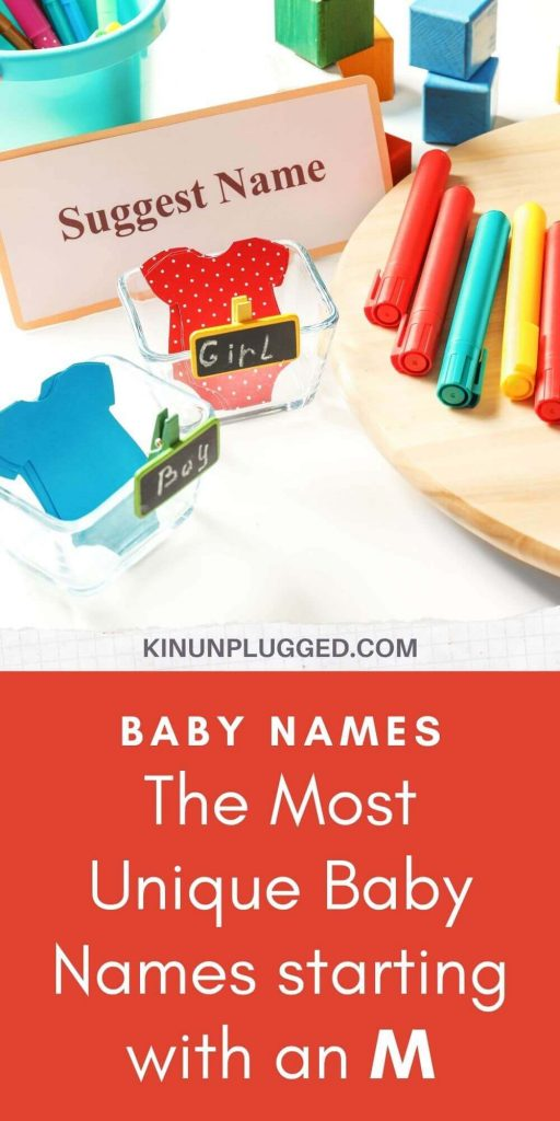 names for baby starting with m