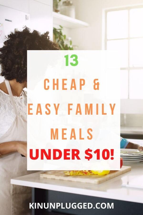 meals under $10