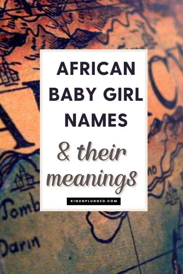 african baby girl names