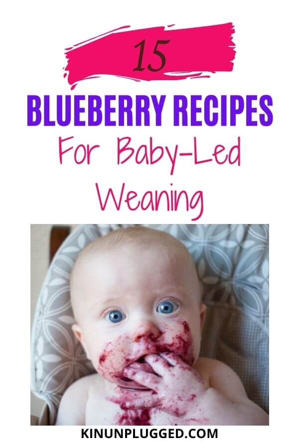 blueberries for baby-led weaning