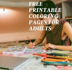 free printable coloring in pages