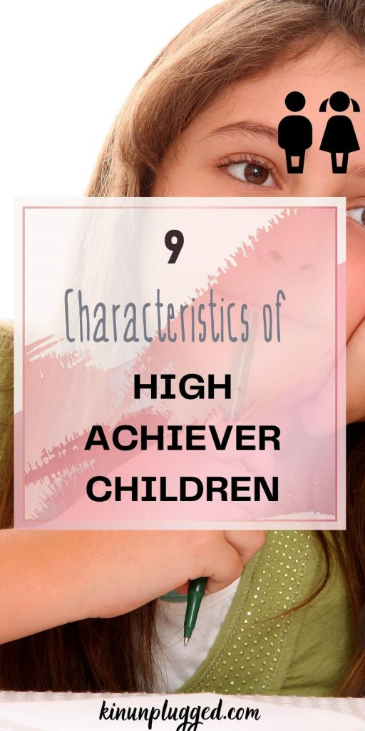 characteristics of a high achiever