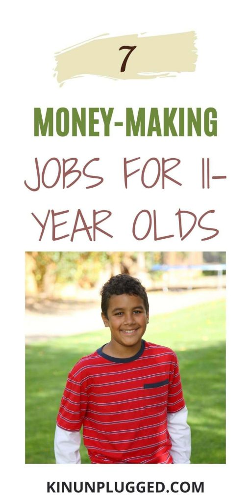 jobs for 11 year olds