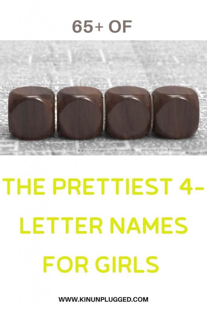 4 letter girl names
