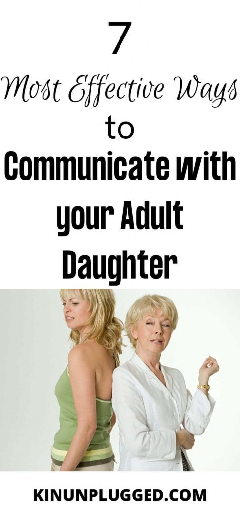 How to get along with your grown daughter